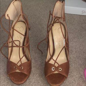 "Jessica Simpson ""New Luggage"" Heels"